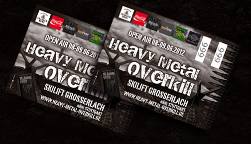 Heavy Metal Overkill 2012 Tickets