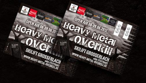 Heavy Metal Overkill 2012 Tickets